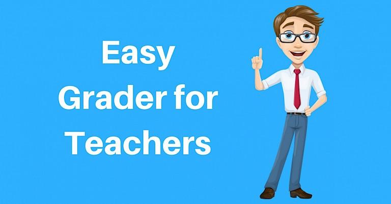 Grade Calculator | Easy Grader for Teachers